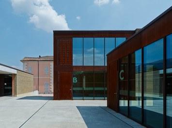 Agricultural College Mezzana - courtyard