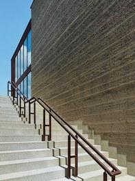Agricultural College Mezzana - staircase