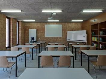 Agricultural College Mezzana - class room