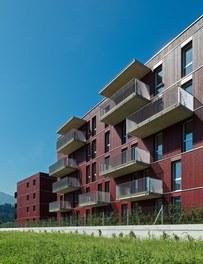 Housing Estate and Kindergarten Steinbockallee - east facade