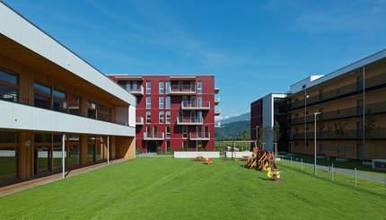Housing Estate and Kindergarten Steinbockallee - courtyard