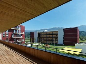 Housing Estate and Kindergarten Steinbockallee - view from terrace