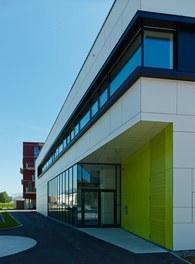Housing Estate and Kindergarten Steinbockallee - entrance kindergarten