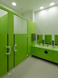Housing Estate and Kindergarten Steinbockallee - restroom