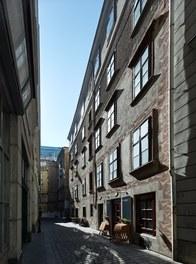 Apartment Kleblattgasse - view from street