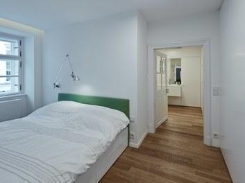 Apartment Kleblattgasse - bedroom