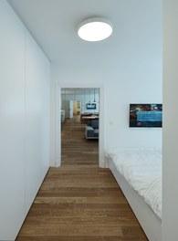 Apartment Kleblattgasse - view from bedroom