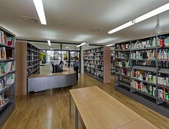 Bundesschulzentrum Ried - library