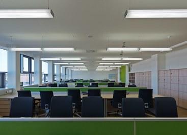 Bundesschulzentrum Ried - class room