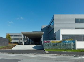 Bundesschulzentrum Ried - entrance