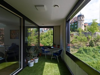 Housing Estate Thalbachgasse - terrace