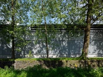 Collini Production Hall - south facade