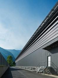 Collini Production Hall - north facade