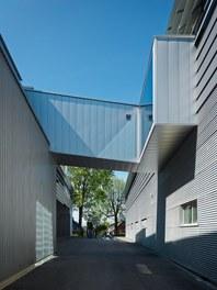 Collini Production Hall - courtyard