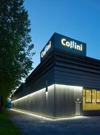 Collini Production Hall - night shot