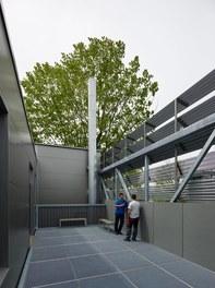Collini Production Hall - terrace