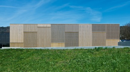 Sports Hall Klaus - south facade