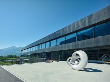 Hilti Innovation Center - courtyard