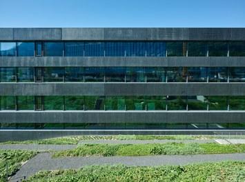 Hilti Innovation Center - detail of facade
