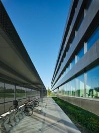 Hilti Innovation Center - bike shed