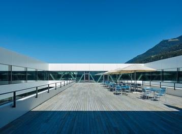 Hilti Innovation Center - terrace