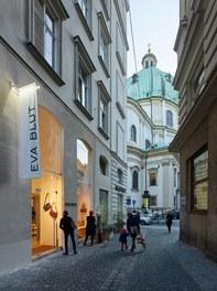 Shop Eva Blut - in Vienna's First District