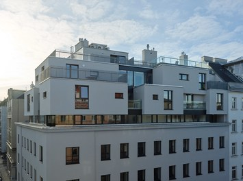 Housing Estate Schönbrunnerstrasse - loft conversion