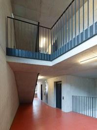 Housing Estate Schönbrunnerstrasse - staircase top floors