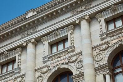 Naturhistorisches Museum Wien; renovation - detail of facade