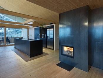 Residence B - living-dining room