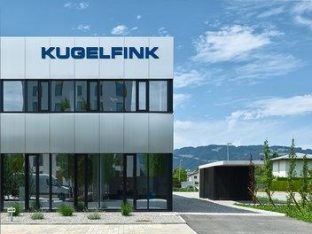 Headquarter Kugelfink - detail of facade