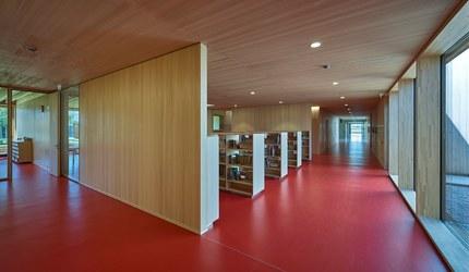Primary School Höchst - library
