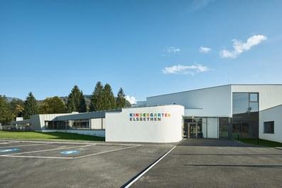 Kindergarten Elsbethen - entrance