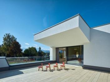 Kindergarten Elsbethen - terrace
