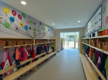 Kindergarten Elsbethen - wardrobe