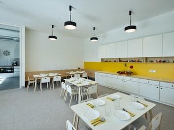 Kindergarten Elsbethen - dining room