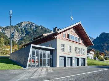 Fire Station Wald am Arlberg - general view