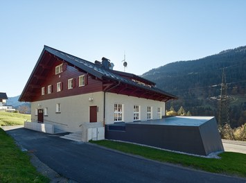 Fire Station Wald am Arlberg - north facade