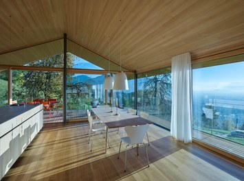 Residence D - kitchen with view