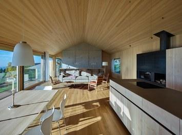 Residence D - living-dining room