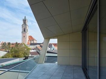 City Hall Herzogenburg - terrace