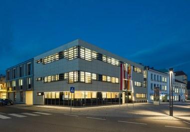 City Hall Herzogenburg - night shot