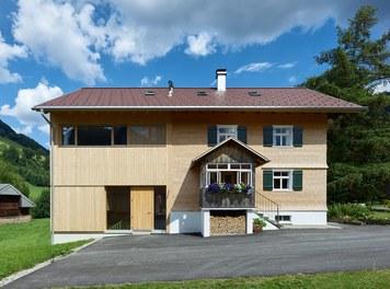 Försterhaus - west facade with entrance
