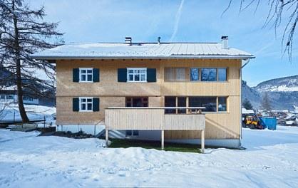 Försterhaus - east facade with terrace