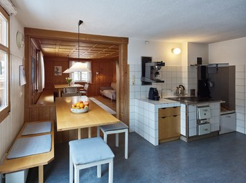 Försterhaus - original kitchen