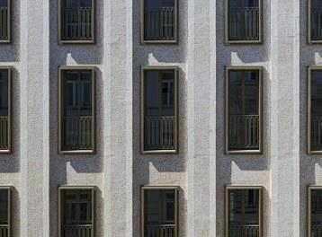 Residential Complex Korb Etagen - detail of facade