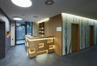 Hotel Waldhof - reception wellness area