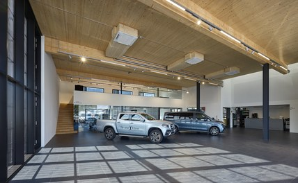 Commercial Vehicle Center - show room