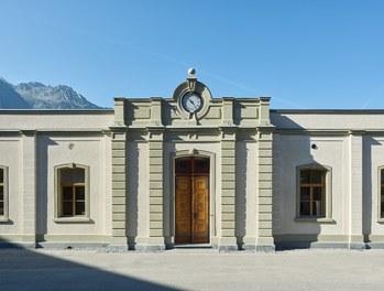 Headquarter Getzner - entrance