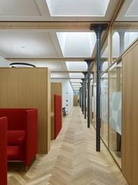 Headquarter Getzner - waiting area